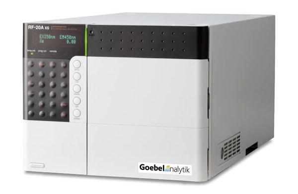 Goebel Instrumentelle Analytik - HPLC Fluoreszenz-Detektor RF-20A/RF-20AXS