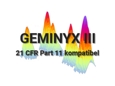 Goebel Instrumentelle Analytik - Steuerungs- und Auswertesoftware GEMINYX III 21 CFR Part 11