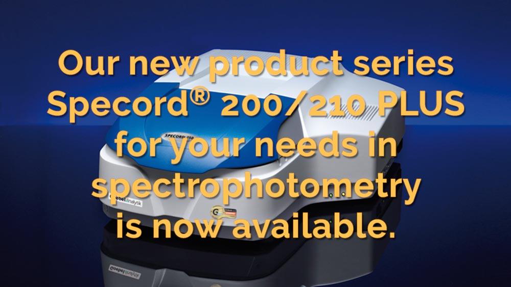 Goebel Instrumentelle Analytik GmbH Specord PLUS ® 200/210 Series
